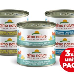 Almo Nature Kat Natvoer - Multi Pack - 6 x 70g