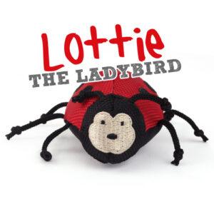 Beco Plush Wand Toy - Lottie the Ladybug