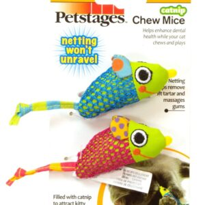 Petstages Catnip Chew Mice