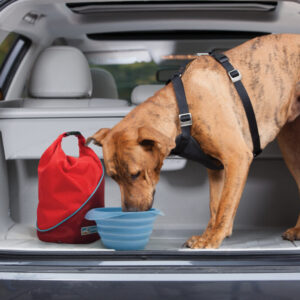 Kurgo - Kibble Carrier - Chili Red