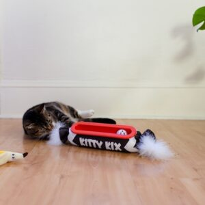 Petstages Kitty Roll Kicker Track Brn