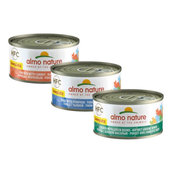 Almo Nature Kat HFC Natvoer - Complete - Blik - 24 x 70g