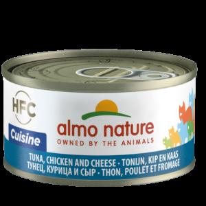 Almo Nature Kat HFC Natvoer - Cuisine - Blik - 24 x 70g