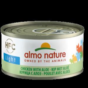 Almo Nature Kat HFC Natvoer - Light - Blik - 24 x 70g