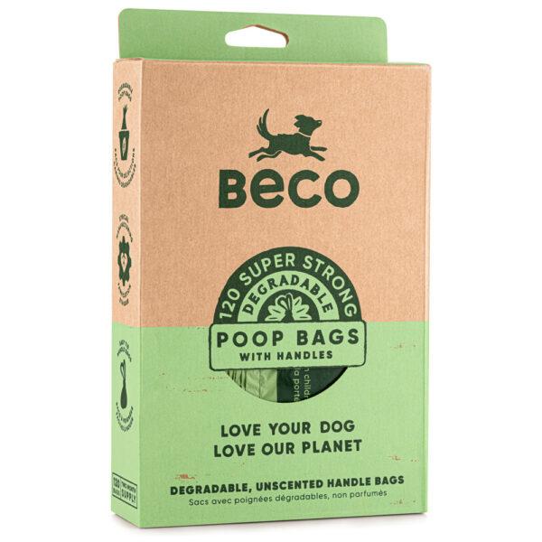 beco poop bags handles