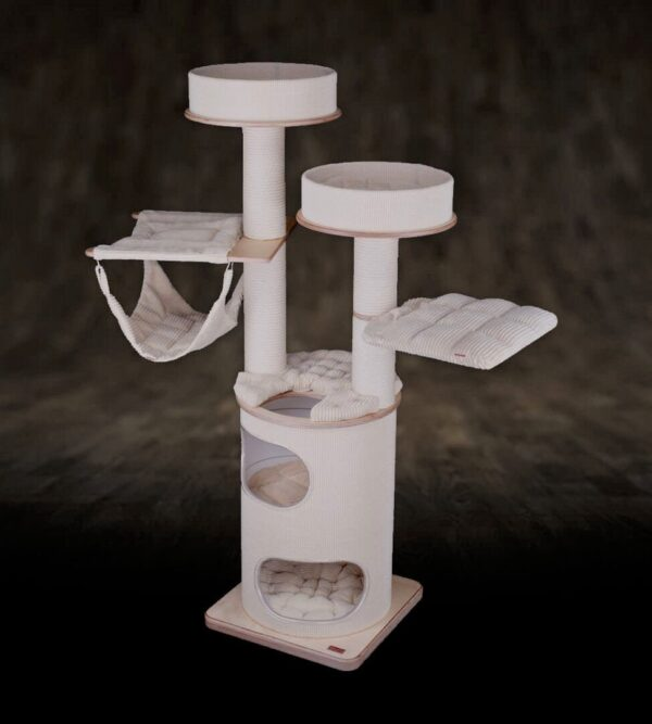 cat tree for cats tube tdr 2h 2