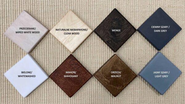 rufi drapaki houtkleuren