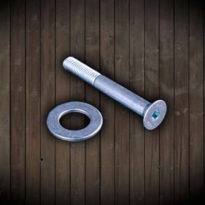 Rufi Drapaki Schroef + Ring Lang 80mm