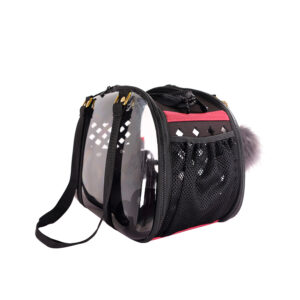 Pet Hardshell Travel Carrier - Transparent Black