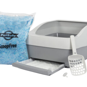 PetSafe Deluxe Crystal Litter Box System