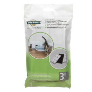 PetSafe Litter Box Replacement Carbon Filters - 3-Pack