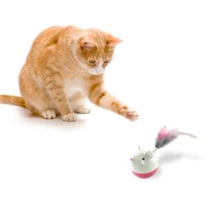 Petstages Hunt N Swat Cat treat dispenser