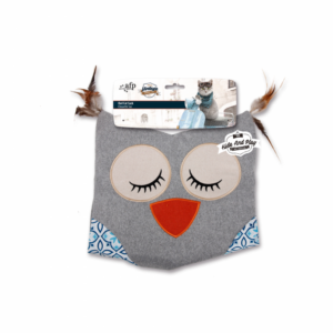 AFP Owl Cat Sack - Grey