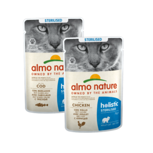 Almo Nature Kat Holistic Natvoer - Sterilised - Pouch - 30 x 70g