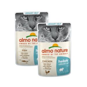 Almo Nature Kat Holistic Natvoer - Urinary Help - Pouche 30x70gr.