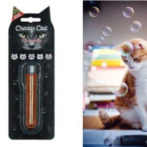 Crazy Cat Fun Bubbles