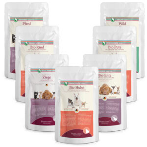 Herrmann's Selection Dog Multipack Pouches 7 x 150 gr.