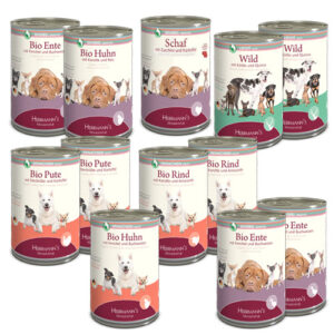 Herrmann's Selection Dog Multipack Cans 12 x 400 gr.