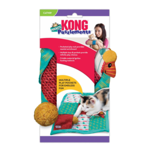 KONG Cat Puzzlements Pockets