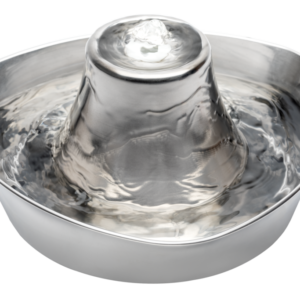 Drinkwell Seaside Stainless Steel Pet Fountain 1.8L