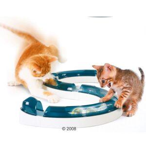 Catit speelcircuit Design Senses 8 x 24 cm wit/blauw