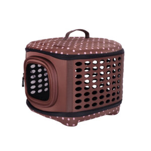 Collapsible Traveling Hand Carrier - Brown