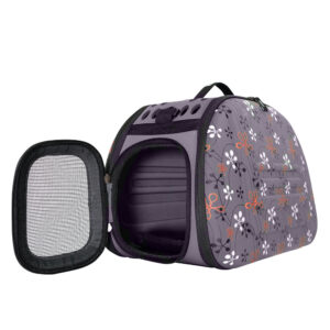 Collapsible Traveling Shoulder Carrier - Gray