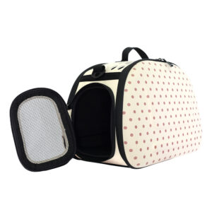 Collapsible Traveling Hand Carrier - Beige