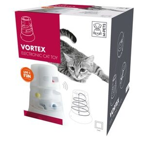 M-Pets Vortax Interactive Cat toy wit